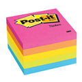 3M CAPETOWN POSTIT NOTES 76x76MM ASSORTED PACK OF 5
