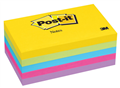 3M JAIPUR ULTRA POSTIT NOTES 76x127MM ASSORTED PACK OF 5