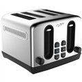 NERO 4SLICE STAINLESS STEEL TOASTER