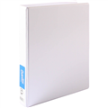BANTEX WHITE 25MM A4 INSERT BINDER 4D RING